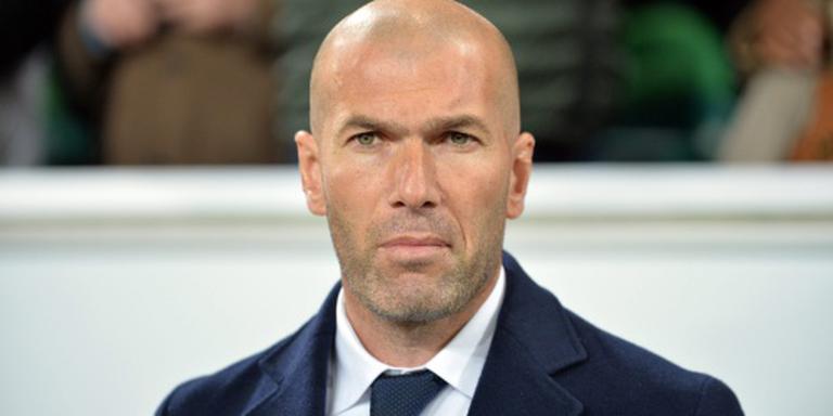 Zidane spaart spelers Real Madrid