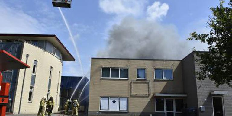 Opruimen na brand Nunspeet duurt hele nacht