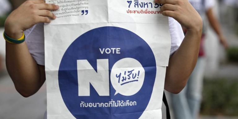 Thaise junta zet tv-zender op zwart
