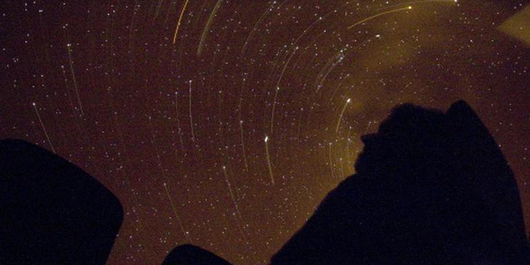 Talloze vallende sterren donderdagnacht