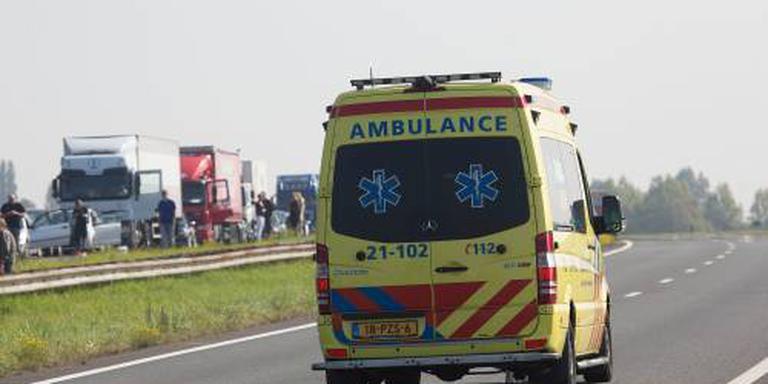 Gewonden en ravage op de A58 bij Moergestel