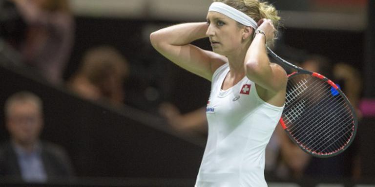 Bacsinszky zegeviert in tennistoernooi Rabat