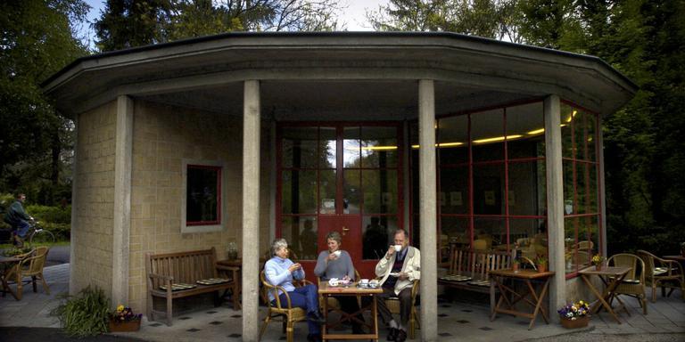 Het theehuis Selwerderhof. FOTO ARCHIEF DVHN