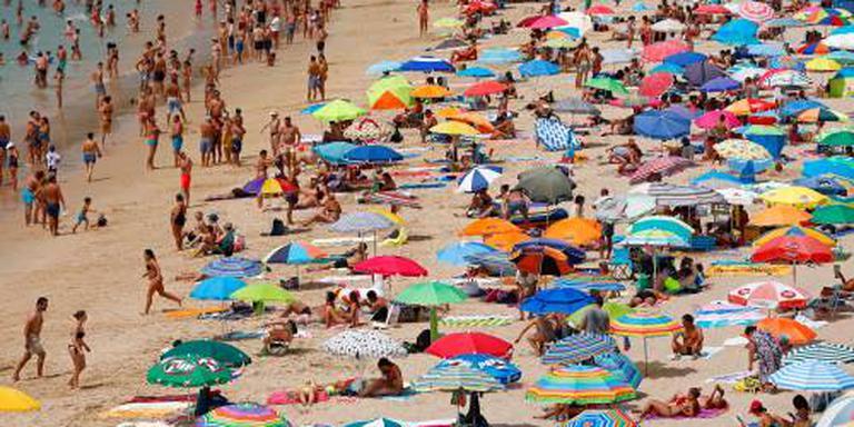Straten verlaten in snikheet Portugal
