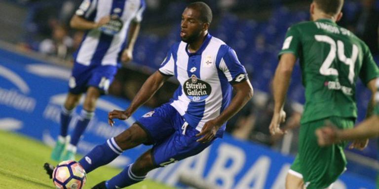 Babel helpt Deportivo in extra tijd aan zege