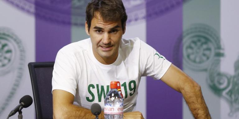 Federer: met deze rug 88 titels gewonnen