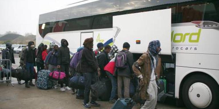 Exodus Calais dinsdag en woensdag verder