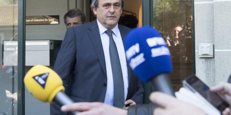 CAS brengt schorsing Platini terug tot 4 jaar