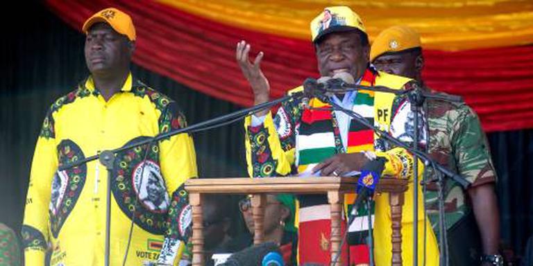 ZANU-PF grote winnaar in Zimbabwe