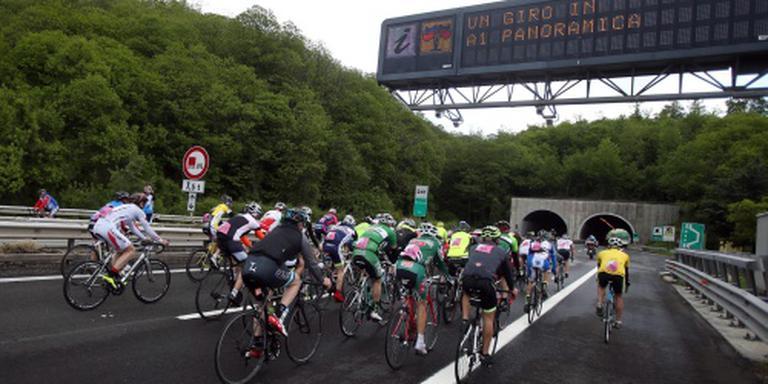 Ritzege Ciccone in Giro, roze voor Jungels