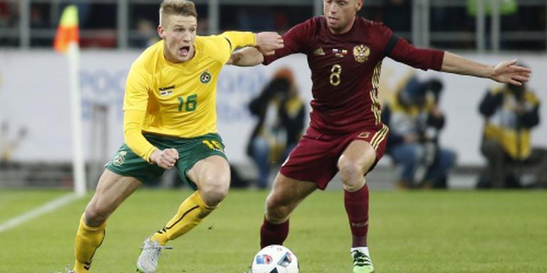 Litouwse international opnieuw naar Den Bosch