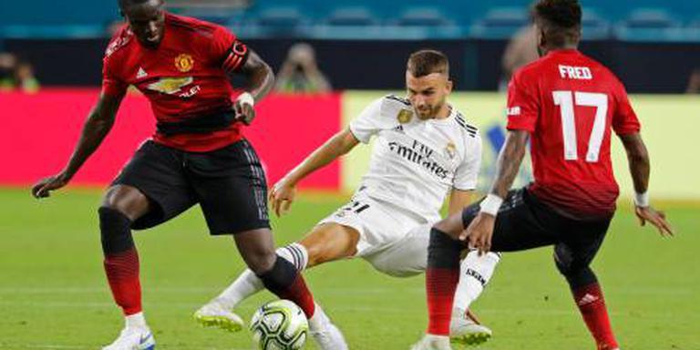 Man United behaalt kleine zege op Real Madrid