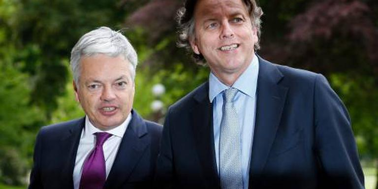 Nederland en België ruilen land