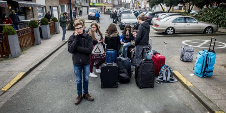 Omvang bagageberg vliegveld Brussel onbekend