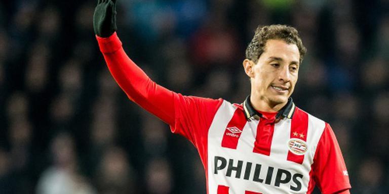 PSV weken zonder Guardado