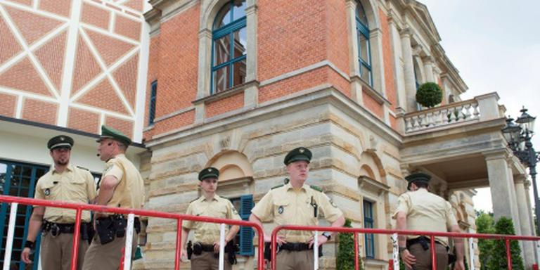 Extra controle op Bayreuth-festival