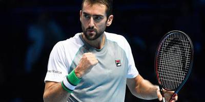 Cilic verslaat Isner, Djokovic geplaatst