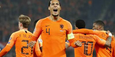 Oranje verslaat Wit-Rusland met 4-0