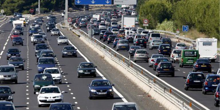 'Zaterdag eerste drukke dag op Franse wegen'