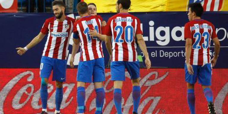 Atlético Madrid wint van Málaga