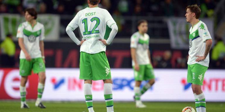 Wolfsburg zonder Dost onderuit bij Leverkusen