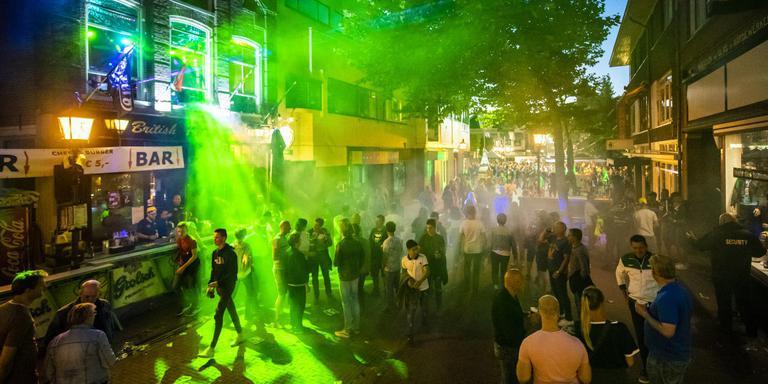 Het was vooral gezellig in de stad. Foto: Marcel Jurian de Jong