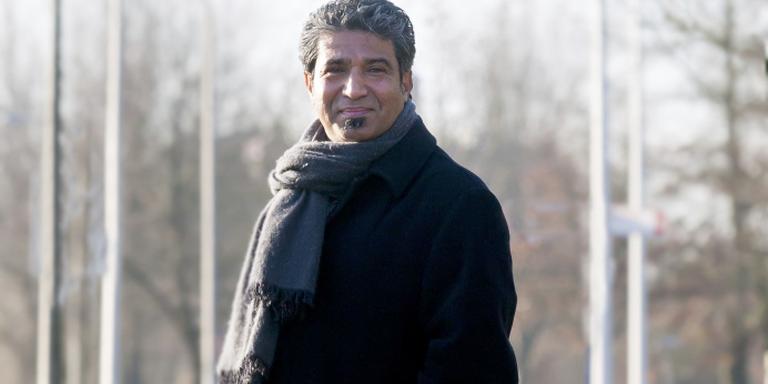Yahya Golam Yahya: ,,Met de juiste bagage nemen Syriërs straks democratie mee naar hun land.'' FOTO GERRIT BOER