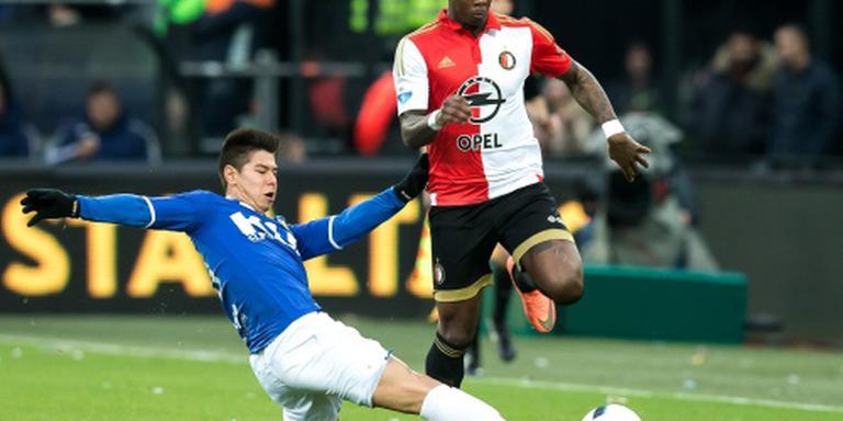 Gelijkspel Feyenoord tegen Roda JC