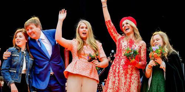 Grande finale van Koningsdag in Groningen