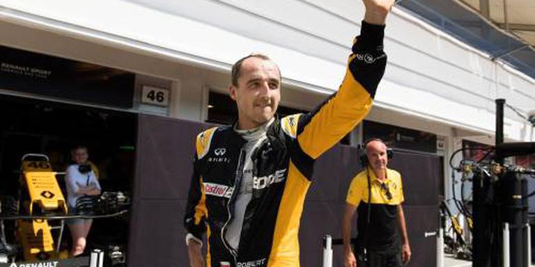 Kubica rijdt honderd rondjes in Abu Dhabi