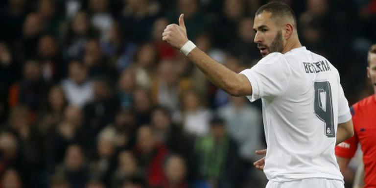 Benzema terug bij Real