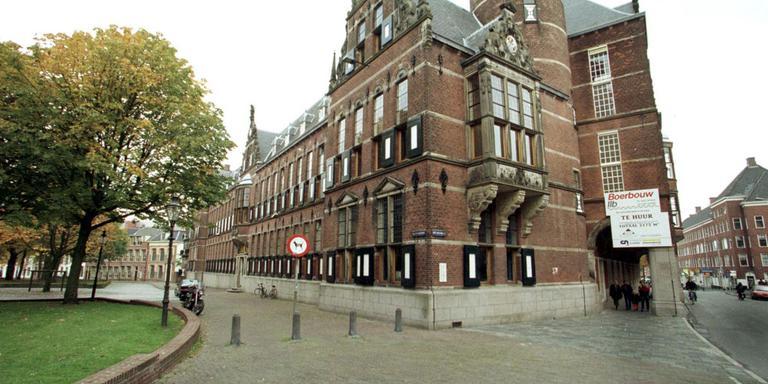 Het Provinciehuis van Groningen. FOTO ARCHIEF DVHN
