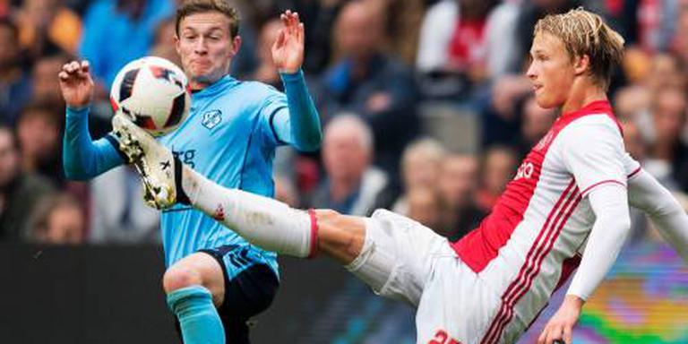 Dolberg weer fit voor Ajax