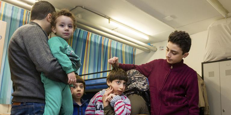 Syrisch gezin kan plots huis kiezen