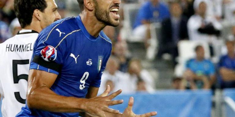 Italiaanse bondscoach zet Pellè uit selectie