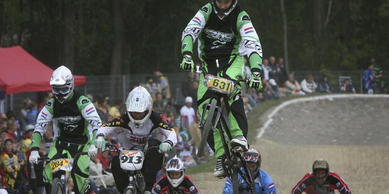 Fietscross op terrein Veenoord