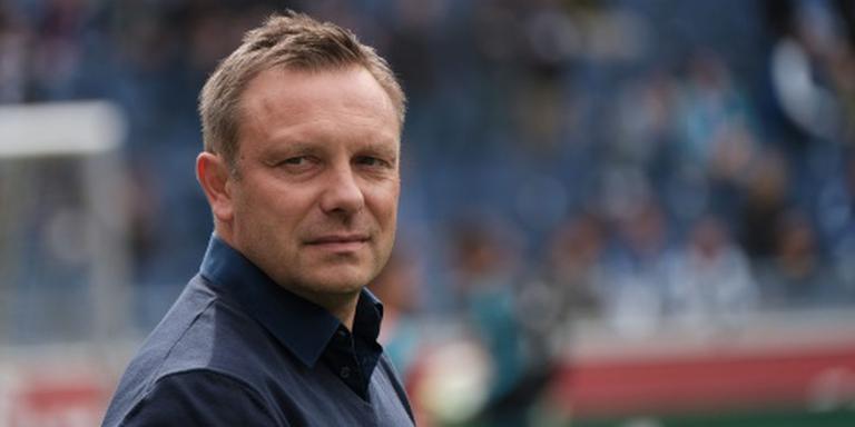 Trainer Breitenreiter weg bij Schalke 04