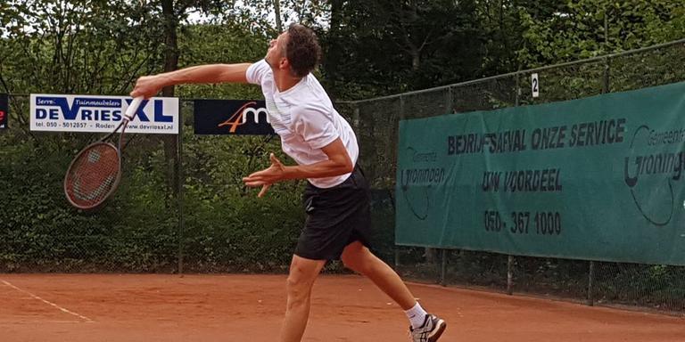 Jasper Smit in actie. Foto: Symen Bosma