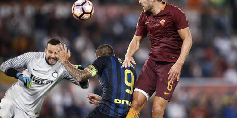 AS Roma zonder Strootman tegen Napoli