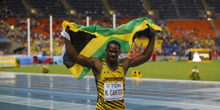 'Ook B-staal Jamaicaan Carter positief'