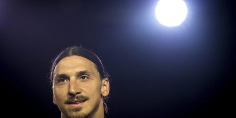 Ibrahimovic met ManUnited naar Zweden