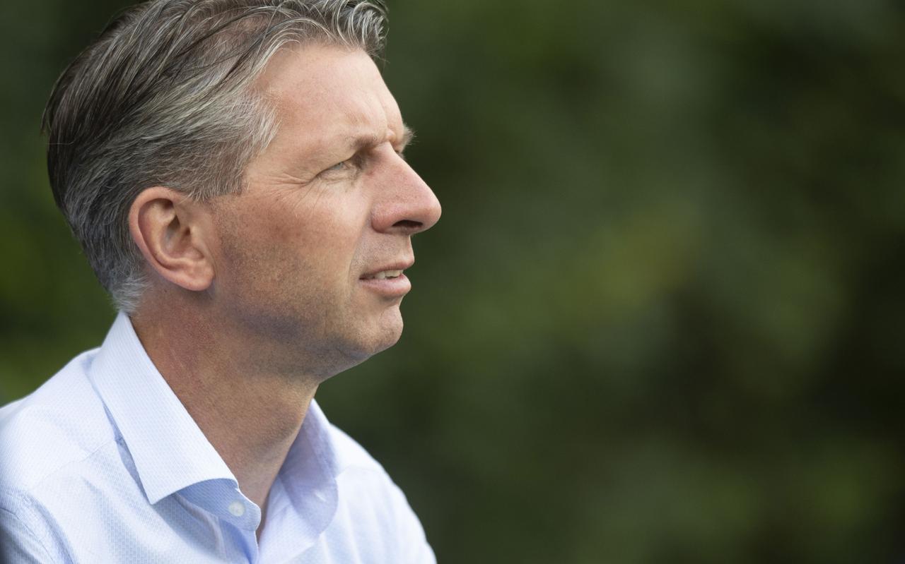 Gerry Hamstra weg bij Heerenveen.