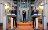 Premier Rutte en minister De Jonge.