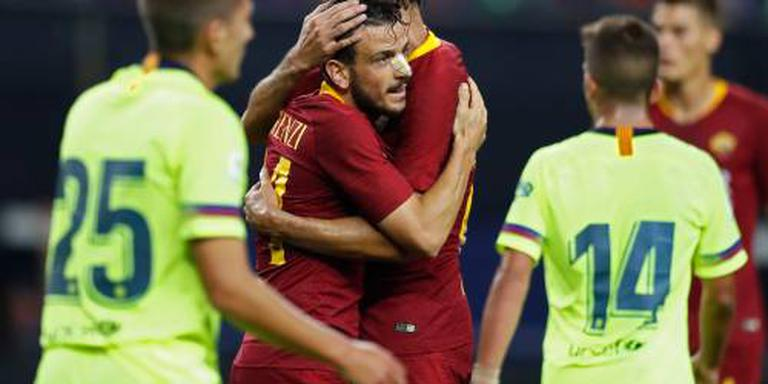 AS Roma in doelpuntrijk duel langs Barcelona