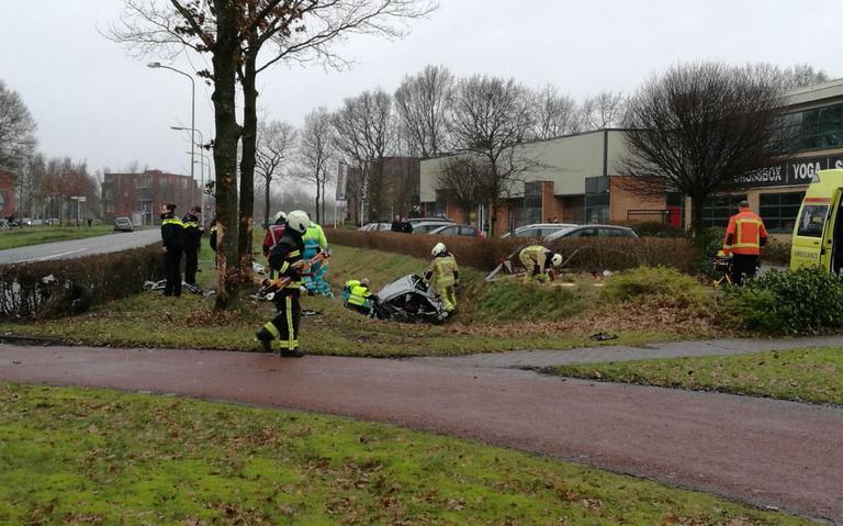 Vrouw na ongeluk in Assen overleden.