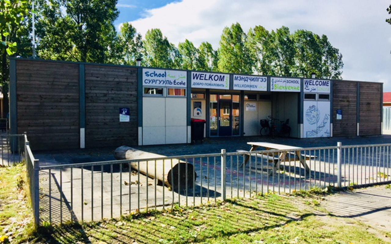 Openbare basisschool de Brink, locatie Hesselanden, bij het azc in Emmen.