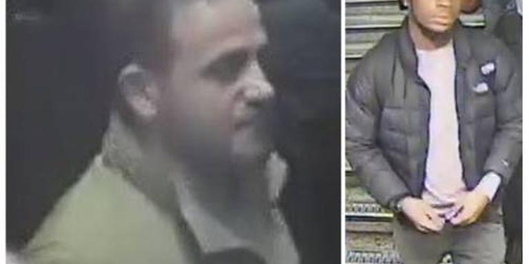 Politie zoekt duo na incident in metro Londen