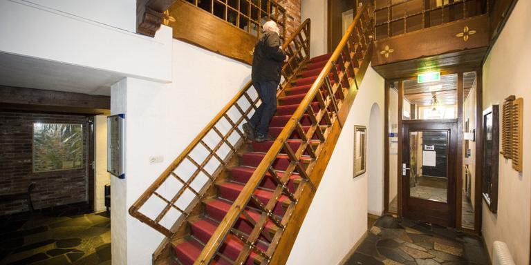 De trap in hotel Braams. Foto: Marcel Jurian de Jong