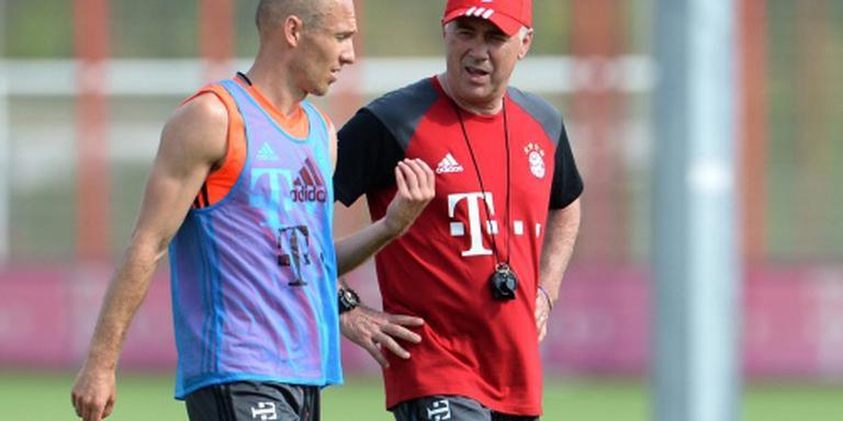 Robben hervat training na blessure