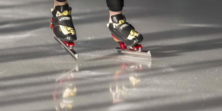 Schaatsen op Hoogeveense ijsbaan lijkt verder weg dan ooit. Foto: Archief DvhN